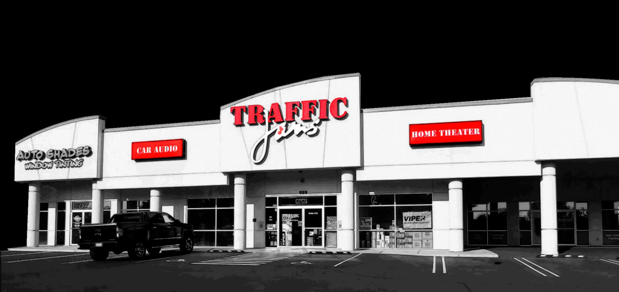 tjams exterior BW - Traffic Jams — Kennewick, WA