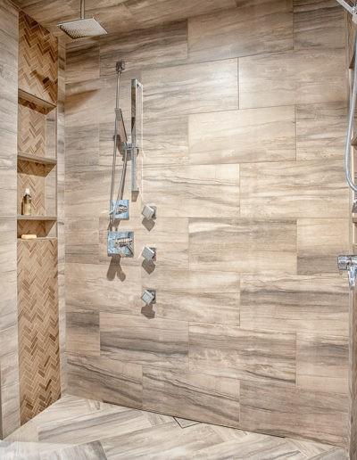 Master Bath shower web 400x516 - Home Electronics Gallery
