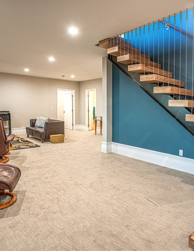 basement and stairs web 400x516 - Home Electronics Gallery